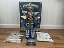 Power Rangers Zeo Deluxe Zeo Megazord, Boxed. Bandai. Great Condition.