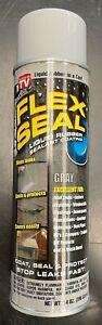 FLEX SEAL 14 Oz. Spray Rubber Sealant, Gray FSGRY20  - 1 Each