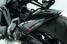 KAWASAKI Z1000 / Z1000SX 10-13 Carbon Look-Silver Mesh Hugger - Powerbronze