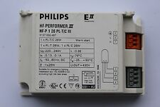 Philips HF-Performer III HF-P 126 PL/T/C III Fluorescent Ballast 1x26w PL-T PL-C