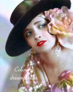 KAY FRANCIS 1930 Hollywood Color Portrait PARAMOUNT ON PARADE