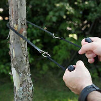 Pocket Chain Saw Stainless Steel Survival Hand Chainsaw Camping Emergency Tool