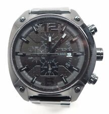 Men's Diesel Blackout Chronograph Watch DZ4223 Couple of Links Removed