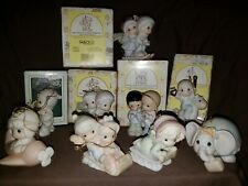 Precious Moments Ornaments Lot of 9 From 1994-1999. Some with boxes *Enesco*