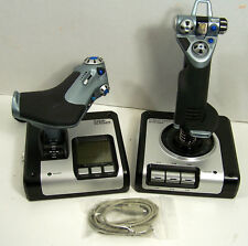 Logitech Saitek X52 Flight Control System For PC