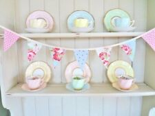 """Cath Kidston Fabric Bunting Wedding Party Vintage Decorations 36"""" **Sale**"""