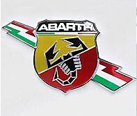 Kleine special edition Abarth scorpion embleem ,  badge schorpioen fiat 500 595