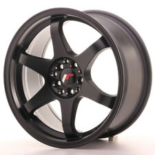 Japan Racing JR3 Alloy Wheel 17x8 - 4x100 / 4x114.3 - ET35 - Matt Black