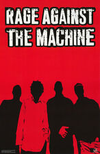 POSTER:MUSIC: RAGE AGAINST THE MACHINE -RED & BLACK  - FREE SHIP ! #6198  LP38 M