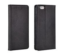^ HTC Desire 830 Smart Magnetico Custodia Cover Borsa Case Libro Astuccio Nero