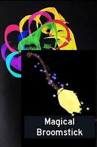 Custom Pic with: Magical broom broomstick Royale high