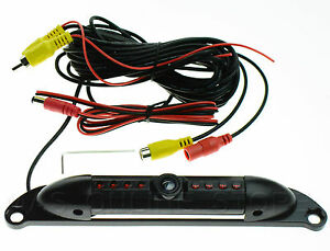 LICENSE REAR VIEW /REVERSE /BACK UP CAMERA FOR ALPINE iLX-W650 iLXW650