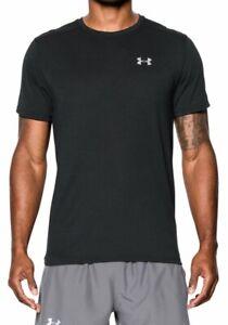 Men's Under Armour UA Threadborne Streaker Short Sleeve Top T Shirt 1271823 XL