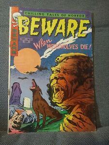 Beware 5 (9/53) When Werewolves Die! SCARCE! Only 12 in census. VG