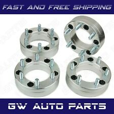 4pcs Wheel Adapters 5x135 To 6x135 2 Thick M14x20 Fit Ford F150 Fits Ford