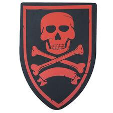 Cosplay Crimson Raider Pretend Play  Pirate Foam LARP Costume Prop Shield
