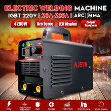 220V 225A Digital Electric Welding Machine IGBT Inverter MMA ARC Stick