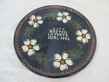 LEHMANN SOUFFLENHEIM POTERIE FRENCH  POTTERY  PLATE WALL HANGING
