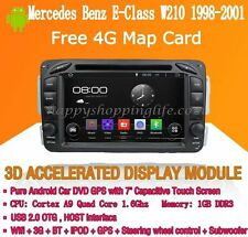 Android Multimedia Player for Mercedes Benz E-Class W210 1998-2001 DVD GPS Navi