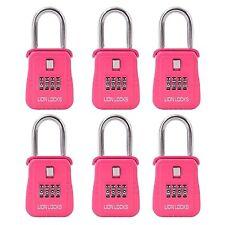 Lion Locks 1500 Key Storage Realtor Lock Box (Pink, 6 Pack)
