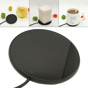 Metal Heating Coaster USB Coffee Constant Temperature Water Cup Warmer Pad Base