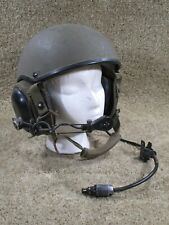 Combat Vehicle Crewman - Cvc Helmet - Complete - Shell Large - Liner Med. - 1988