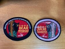 1998 Michigan Successful Dnr Bear Hunting Patch*Authentic*