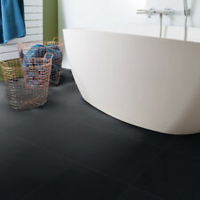 GERFLOR Vinile Piastrella design 0221 Black Tile 1m²