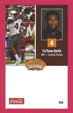 TRE'QUAN SMITH 2018 REESE'S SENIOR BOWL UCF CENTRAL FLORIDA KNIGHTS ROOKIE CARD