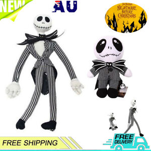 2Pcs The Nightmare Before Christmas Jack Skellington Doll Plush Toy Easter Gift