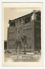 RPPC, Destruction of bldg, SHARON INN, 205 Chestnut Street, PA (?) 1930s (?)