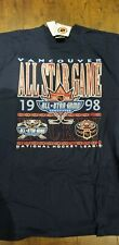 NEW with tags 1998 NHL All-Star game Vancouver ,Canucks Men's XL T-shirt Vintage