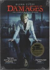 Damages - The Complete First Season (DVD, 2008, 3-Disc Set) NEW UNOPENED