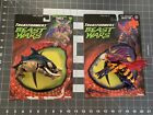 Transformers Beast Wars Fuzors Deluxe TORCA & INJECTOR 1999 Kenner New w/ Card