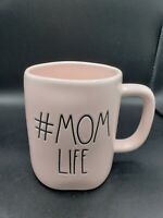 New Rae Dunn by Magenta  LL #MOMLIFE Coffee Mug Pink Farmhouse Decor MOM LIFE