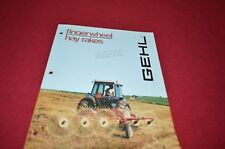 Gehl Fingerwheel Hay Rake Dealers Brochure DCPA