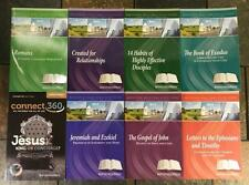 BaptistWay Press Adult Bible Study Guide Series - Lot of 8 Books - Large Print