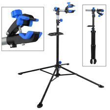"Bike Repair Stand rack W/ 74"" Telescopic Arm & 360° Clamps Pro Bikers' Tools"