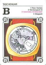 Automatic-wristwatch watch montre automatique PLAYING CARD CARTE À JOUER