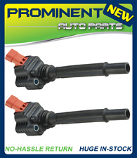 Set of 2 Ignition Coil for 14-17 Fiat 500L 15-17 Jeep Renegade 55250468 UF755