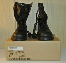 Addison Climbers Boots Steel Toe 13W 13 Wide Black Brand New.