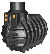 Erdtank mit Dom Zisterne Tank Regenwassertank Wassertank 3000 Liter