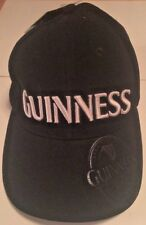 New Guinness Beer Embroidered Strapback Hat Baseball Cap NWT