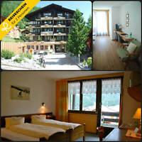Reisegutschein Schweiz Saas-Fee 3 Tage 2 Personen Hotel Kurzurlaub Wochenende