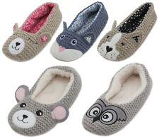 Dunlop Femme Kids 3D Nouveauté NARVAL Slipper Femmes Filles Animal Indoor Chaussures