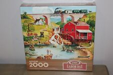 Springbok 2000 piece puzzle - 1909 Labor Day NEW, SEALED
