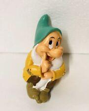 Disney Bashful Dwarf Snow White Sitting Figure Vintage Cake Topper