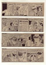 Mickey Finn by Morris Weiss - 26 daily comic strips - Complete June 1972