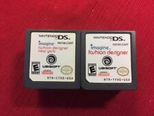 Lot of 2 Children's Fashion DS Games Girls (Nintendo DS) - Tested and Guaranteed