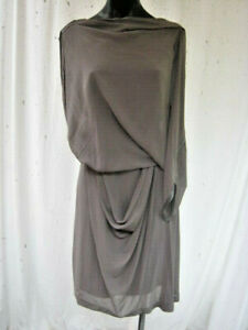 WILLOW, As New, Aus/Uk 12, A Beautiful Design In 100% Silk.